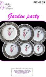 GARDEN PARTY PAGE DE GARDE